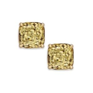 KATE SPADE • Glitter & Glee Gold Earrings